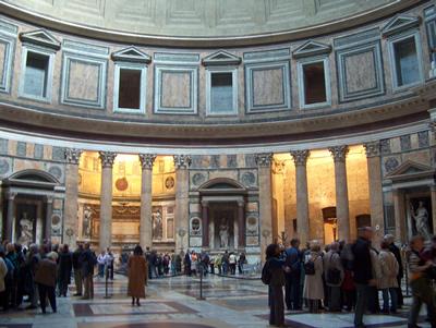 interieur pantheon